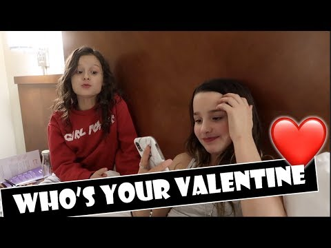 Who's Your Valentine ❤ (WK 372) | Bratayley