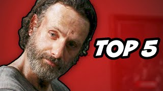 Walking Dead Season 5 Episode 3 - TOP 5 WTF Moments