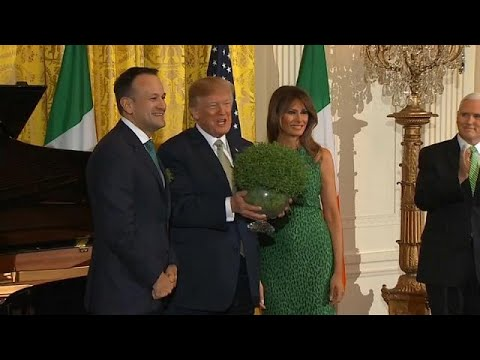 Irish Taoiseach in US for St Patrick's Day