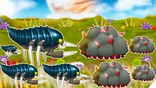 ИНОПЛАНЕТНЫЕ ЖУКИ НАПАДАЮТ НА НАШУ КОРОЛЕВУ - Swarm Queen # 5