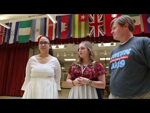 Rosemore Middle School's Model U.N. members