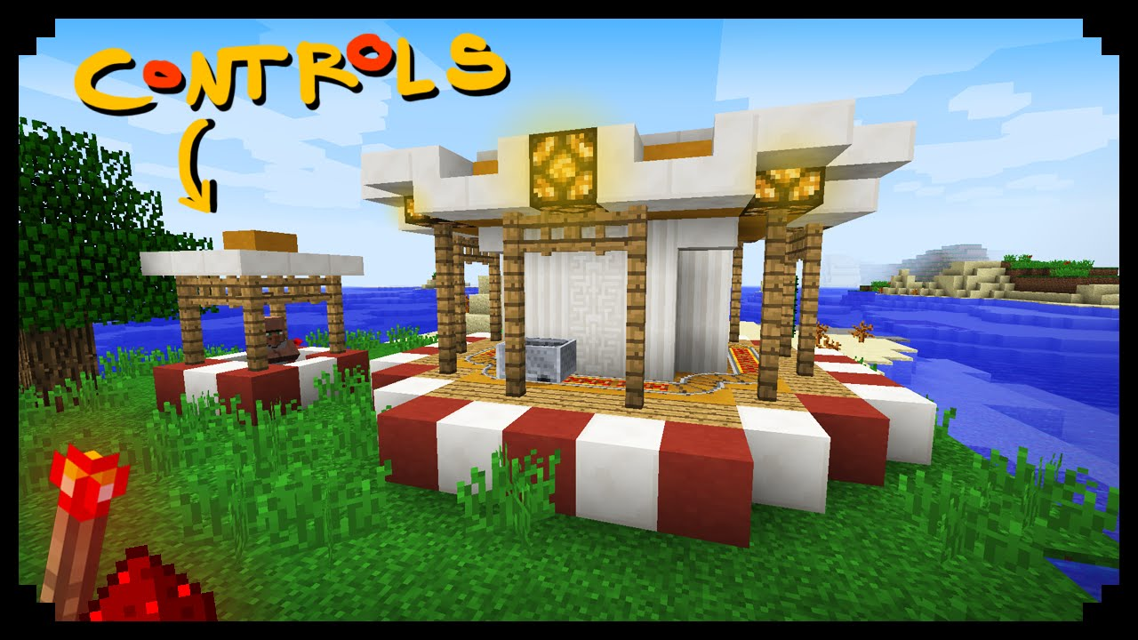 How To Build A Carousel In Minecraft