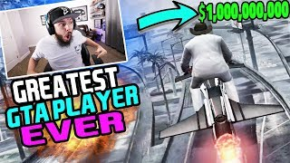 GTA 5 Online -GREATEST GRAND THEFT AUTO 5 PLAYER EVER!! *MUST WATCH*