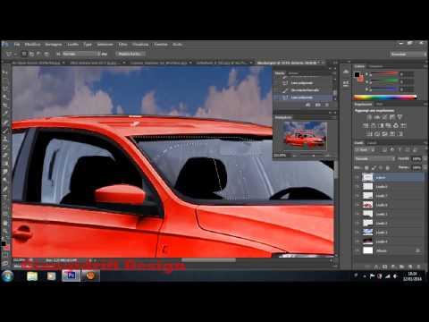 Skoda Rapid Virtual Tuning Photoshop