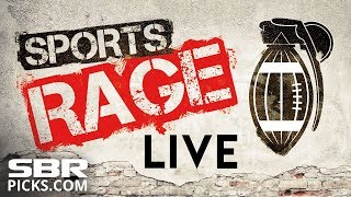 MNF Broncos-Chiefs + Warriors-Clippers &  Kings-Blues | LIVE IN-Game Betting Preview | Sports Rage 2017 Video