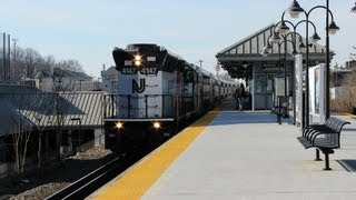 Railfanning Union, NJ: NS SD70ACe 1030, NJT Equipment Move, & More! - 2-2-2013