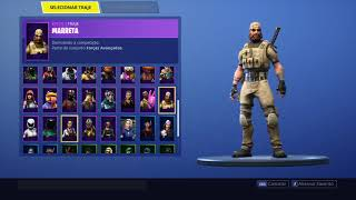Fortnite: Change or seeing account with 53 skins and Sound * Read Description *