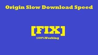 Origin Slow Download Speed Fix (Google DNS,  R&D Mode 100% Working)