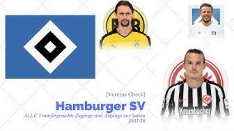 [Vereins Check]Hamburger SV: ALLE Transfergerüchte  Zugänge und Abgänge zur Saison 201718