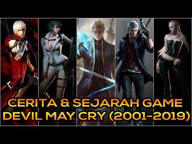 Cerita & Sejarah Game Devil May Cry (2001-2019)