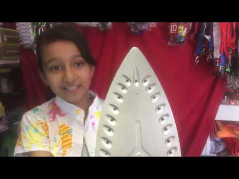 How To clean iron bottom easy way