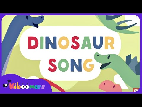 Dinosaur Song for Kids | T-Rex | Dinosaurs | The Kiboomers