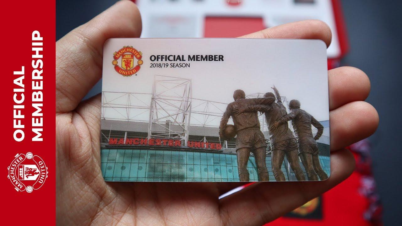 สมาชิกแมนยู สมัครแล้วได้อะไร แกะกล่อง Membership Pack