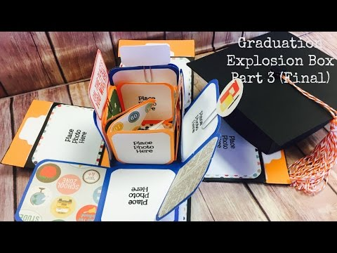 Graduation Explosion Box Part 3