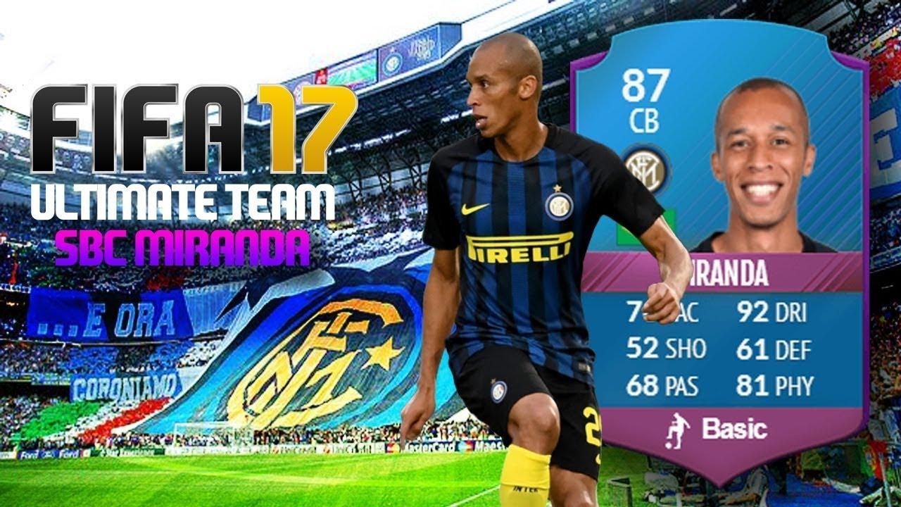Sbc Fifa 17