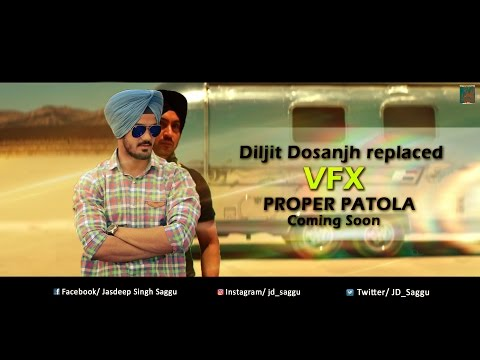 Proper Patola motion poster || Diljit Dosanjh replaced || JD_Saggu