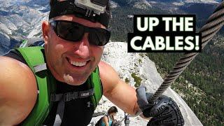 Yosemite N.P. - How to Hike Half Dome (Vlog/Park #20)