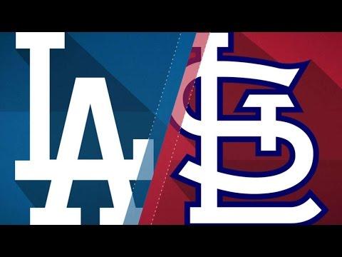 5/29/17: Dodgers hit three home runs in win