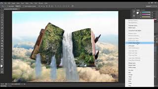 How To Make Manipulation Natural Book Landscape/Photoshop Tutorial/ 2020