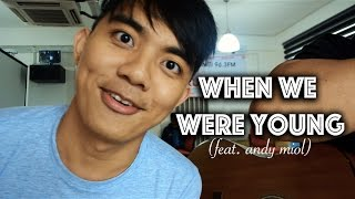 When We Were Young - Adele   Adam Shamil Cover (Feat. Andy miol)