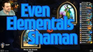 Even Elementals Shaman vs Combo Druid - Hearthstone