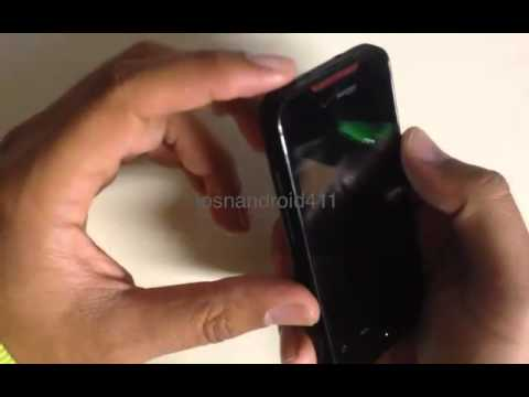 How to Hard Reset (Factory Restore) Password Wipe the Htc Droid Incredible tutorial