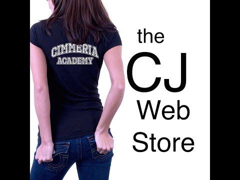 Announcement! The CJ Daugherty Webstore