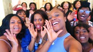 My First Meet & Greet! NYC! Black Girls and Korean Culture! |Raki Wright|