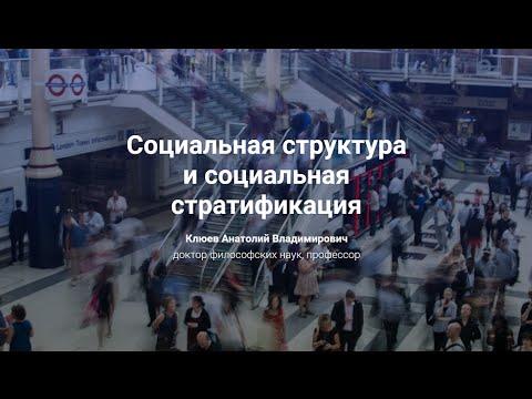 3. Социальная структура и социальная стратификация.