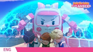 🚨 Daily life Safety with AMBER   EP 04  Robocar POLI   Kids animation