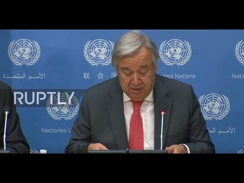 UN: 'Completely unacceptable' - UN's Guterres calls for end to Rohingya persecution