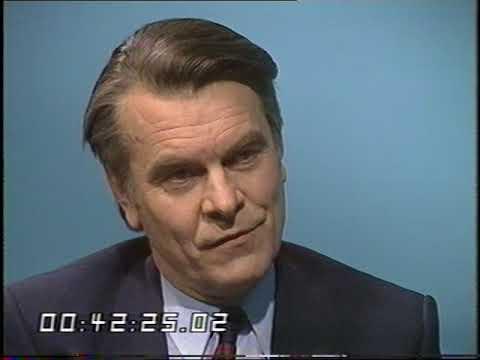 David Owen interview | SDP Party | Liberal Party | TV Eye | 1985