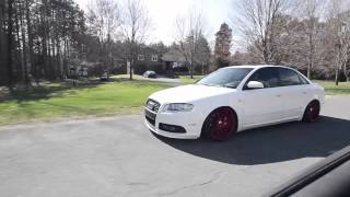 2007 Audi A4 on 19