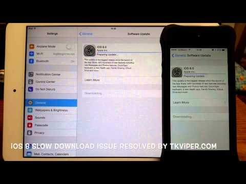 iOS 8 Download Issue Resolved by tkviper.com