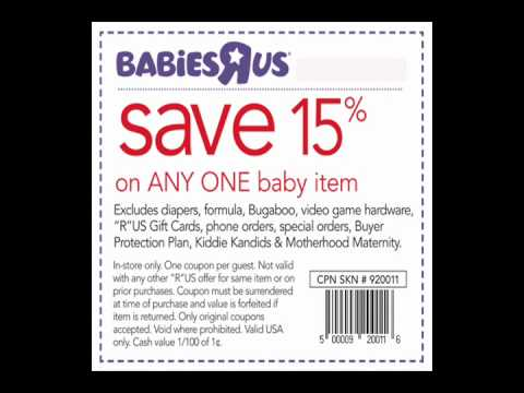 babies r us coupons for july 2012 get babies r us coupons for july 2012 youtube