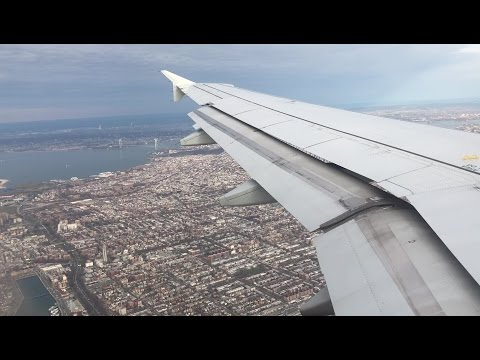 JetBlue 80 A320 - JFK Airport (JFK) Canarsie landing - Great views of Brooklyn, New York City