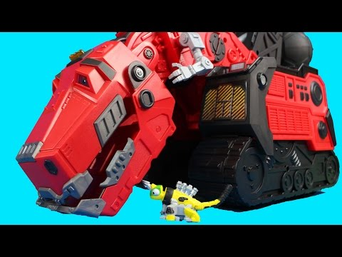 Dinotrux Mega Chompin' Ty Rux Dino Revvit Reptool Search For Ore And Battle Imaginext T-Rex