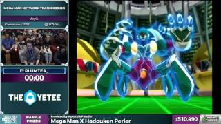 Mega Man Network Transmission by plum in 1:05:02 - Awesome Games Done Quick 2017 - Part 93