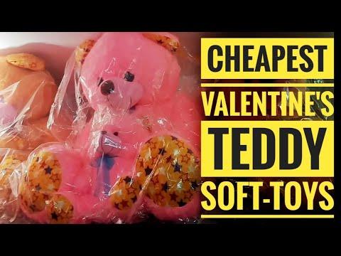 Cheapest Soft-Toys in Delhi   Teddy Bears   Valentine's Special lSadar bazar Wholesale/Retail Market