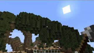 VoxelSniper Mega-Tree Time Lapse | Minecraft