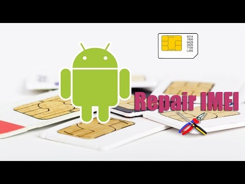 IMEI Repair with MTK Droid Tools