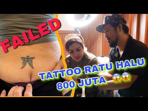 Ratu Halu Nato nimpa tattoo lama pantatnya    hendric shinigami