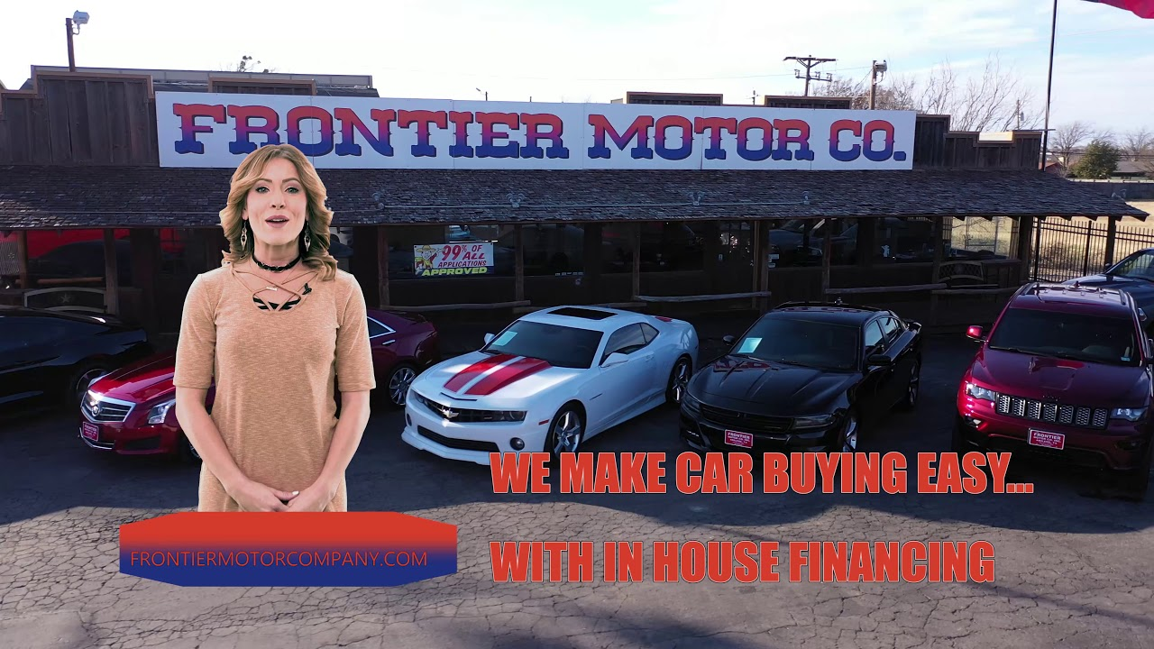 frontier motors has been making car buying easy since 1980 youtube youtube