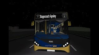 Roblox's Version Of The Stagecoach Gold E200 MMC - Thrash On The Motorway