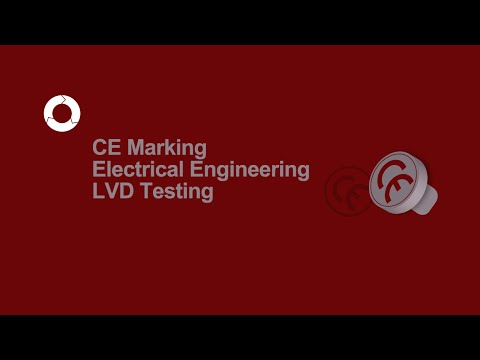 CE Marking Electrical Engineering | LVD Testing