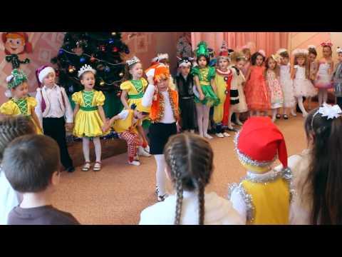 Новогодний утренник в детском садике  www antongidrovich com Novogodniy UtreniK   Rodnichok 2015