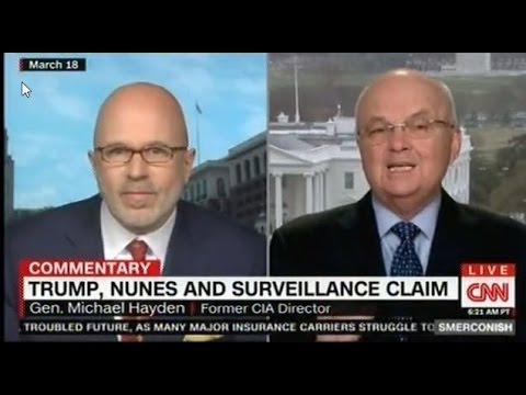 Gen Michael Hayden accurately predicted on CNN that incidental collection would vindicate Trump's cl