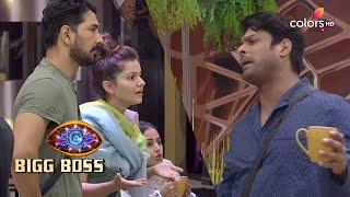 Bigg Boss S14 | बिग बॉस S14 | Rubina And Sidharth Get Into An Ugly Argument