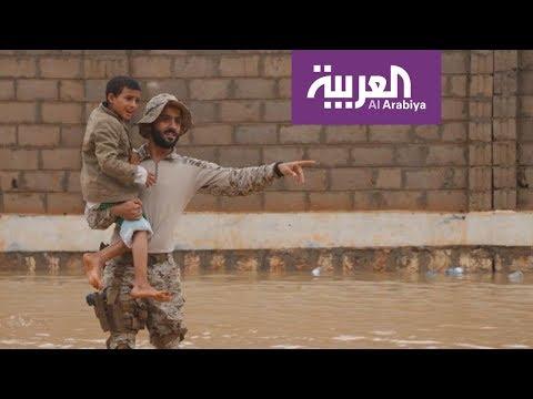 سعوديون يغيثون منكوبي المهرة اليمنية  - نشر قبل 2 ساعة