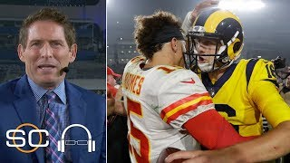 Patrick Mahomes, Jared Goff shine in Chiefs vs. Rams - Steve Young | SC with SVP